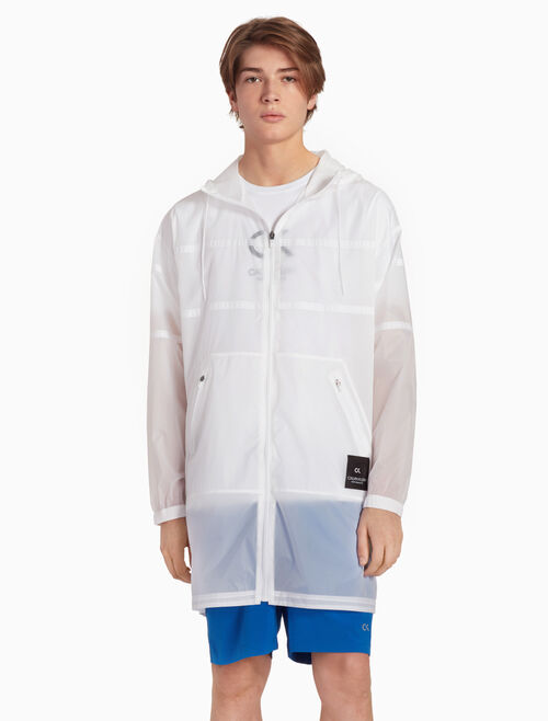 CALVIN KLEIN X-RAY HOODED PARKA