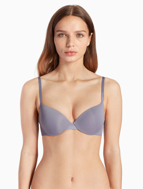 CALVIN KLEIN SCULPTED LIGHTLY LINED デミブラ