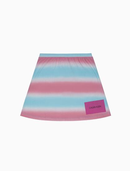 CALVIN KLEIN ガールズ A ライン スカート