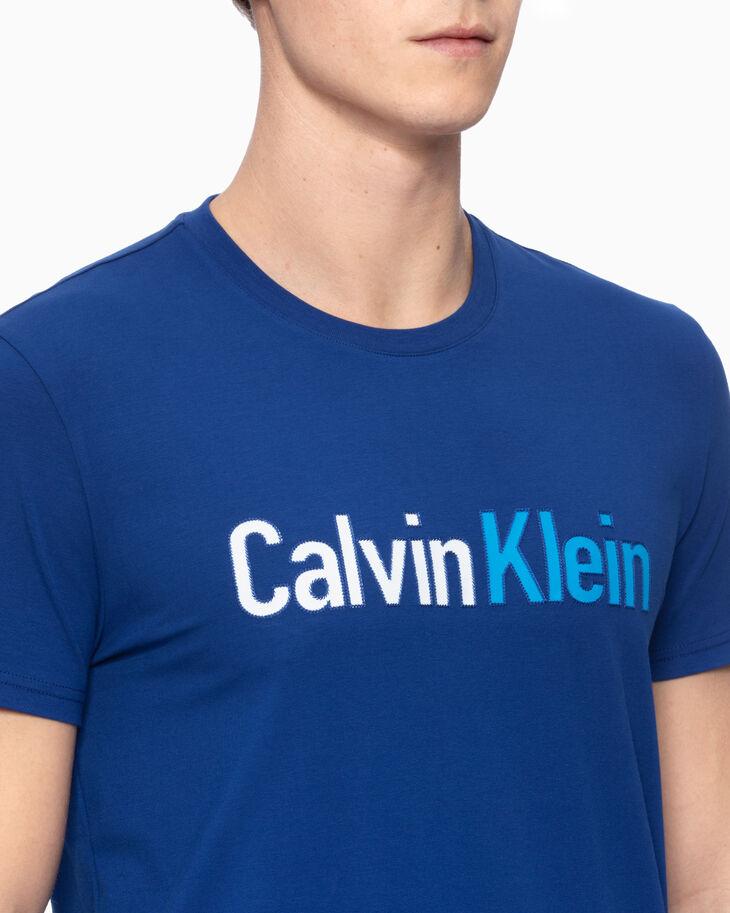 CALVIN KLEIN STITCHED LOGO SLIM TEE