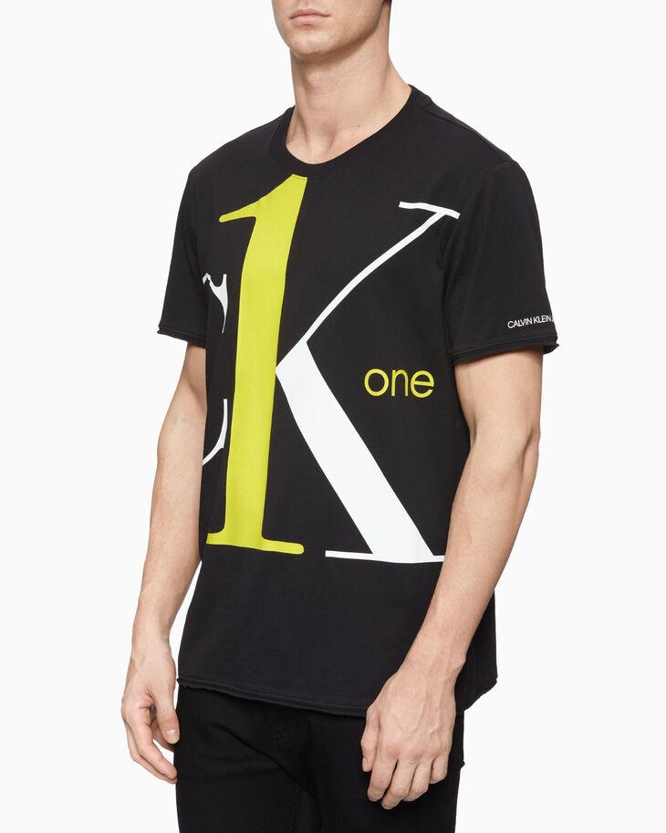 CALVIN KLEIN CK ONE EXTRA BOLD LOGO 티셔츠