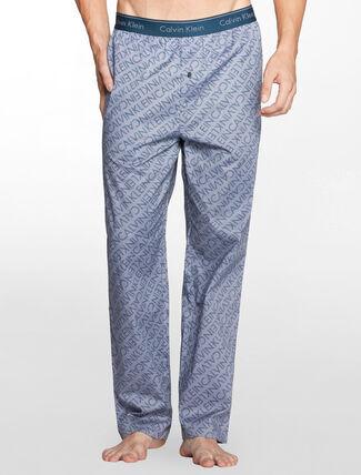 CALVIN KLEIN ウーブン スリープウェアパジャマパンツ