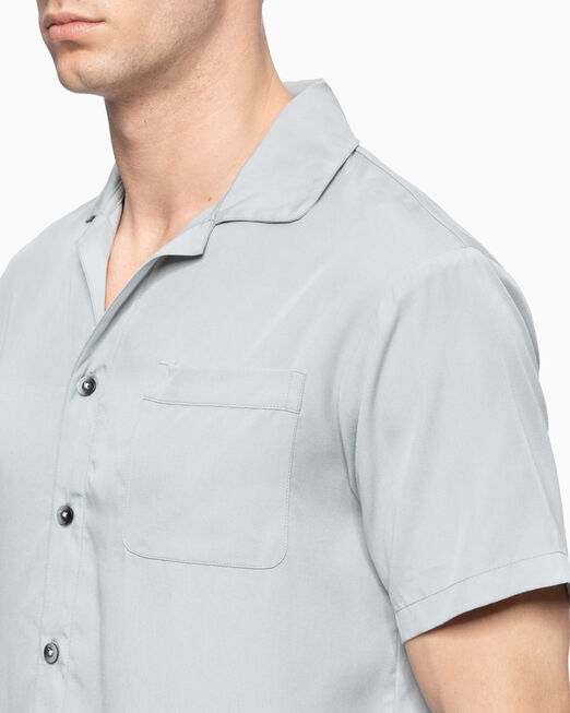 CALVIN KLEIN TENCEL LOUNGE SHIRT
