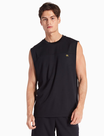 CALVIN KLEIN MESH PANEL TANK TOP
