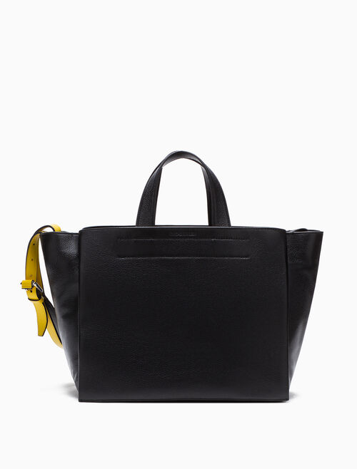 CALVIN KLEIN レザー CARRYALL バッグ