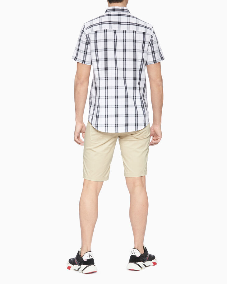 CALVIN KLEIN 37.5 PLAID SHORT SLEEVE SHIRT
