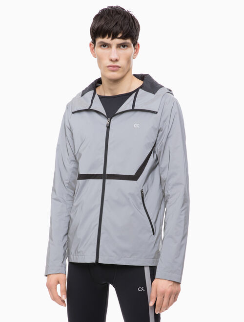 CALVIN KLEIN REFLECTIVE WINDJACKET