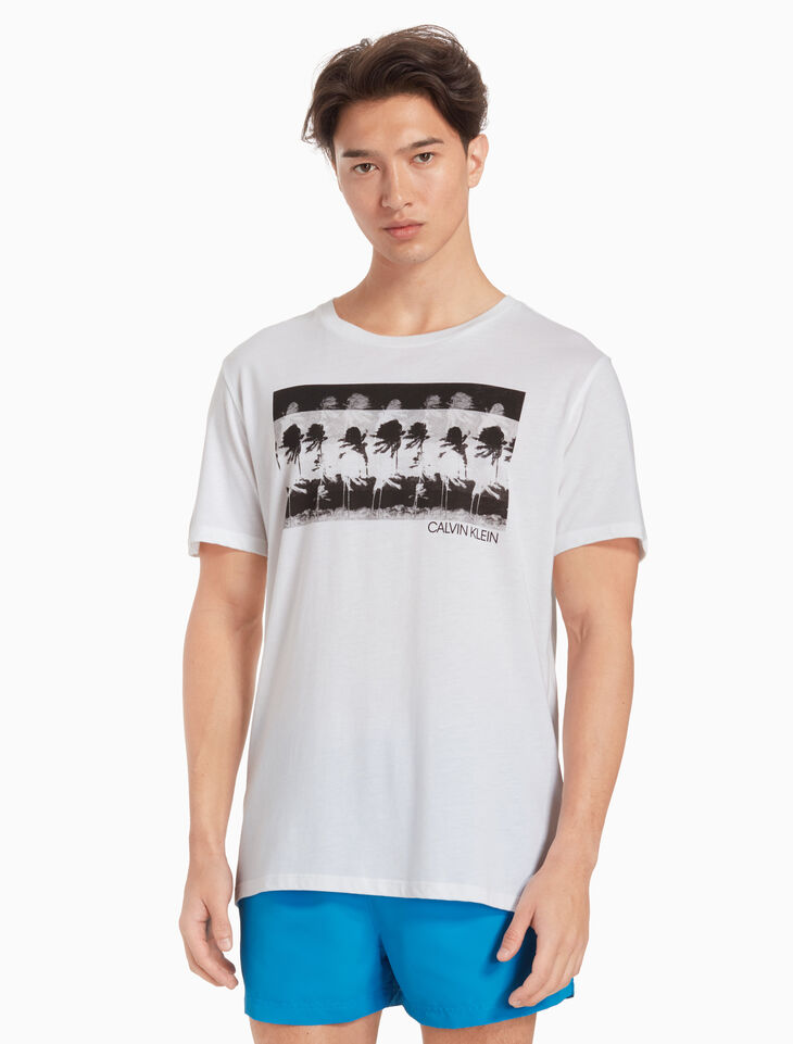 CALVIN KLEIN RELAXED 크루넥 티셔츠