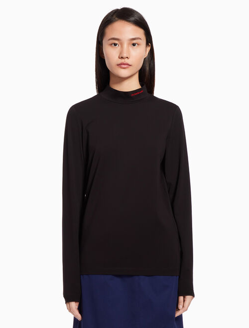CALVIN KLEIN Turtleneck logo top
