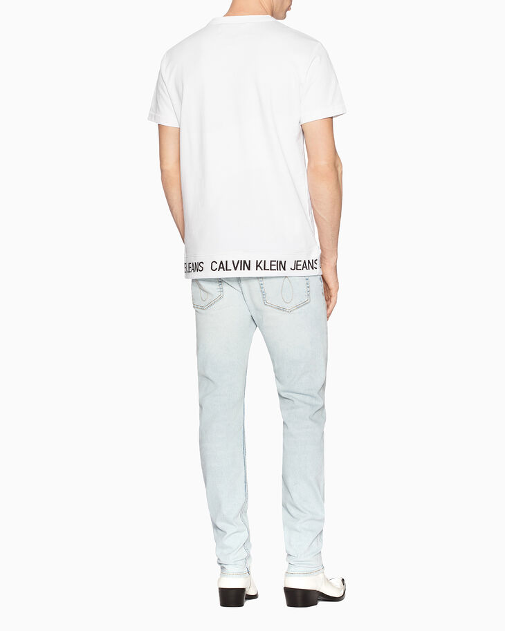 CALVIN KLEIN INSTITUTIONAL LOGO BAND SWEATSHIRT