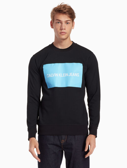 CALVIN KLEIN INSTITUTIONAL SWEATSHIRT