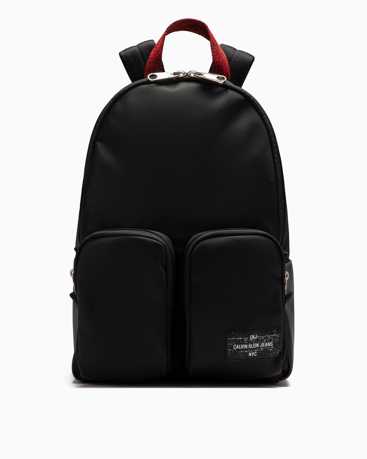 CALVIN KLEIN SLEEK NYLON CAMPUS BACKPACK 40CM
