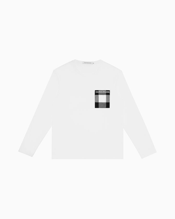 CALVIN KLEIN BUFFALO POCKET LONG SLEEVE TEE
