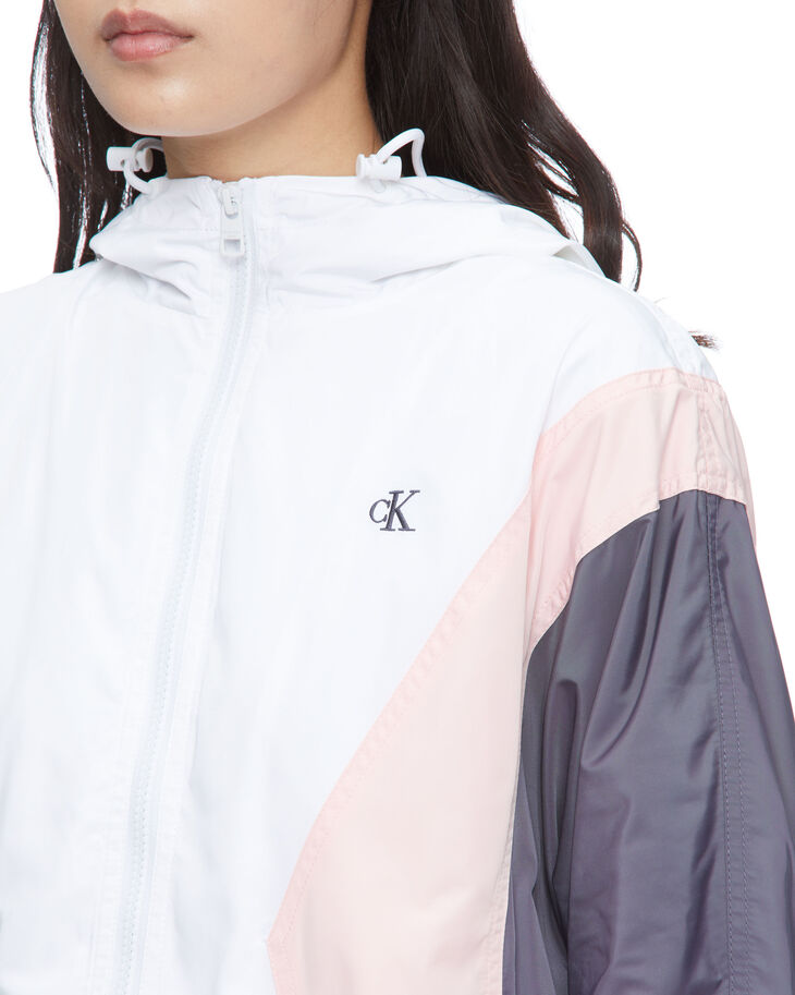 CALVIN KLEIN COLOR BLOCK WINDBREAKER JACKET