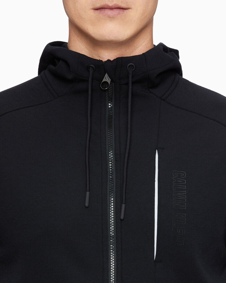 CALVIN KLEIN MODERN SWEAT HOODED JACKET