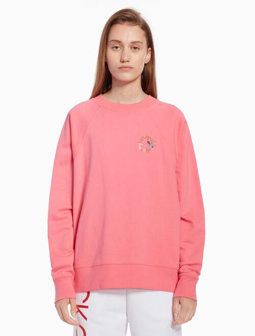CALVIN KLEIN Flower totem sweatshirt