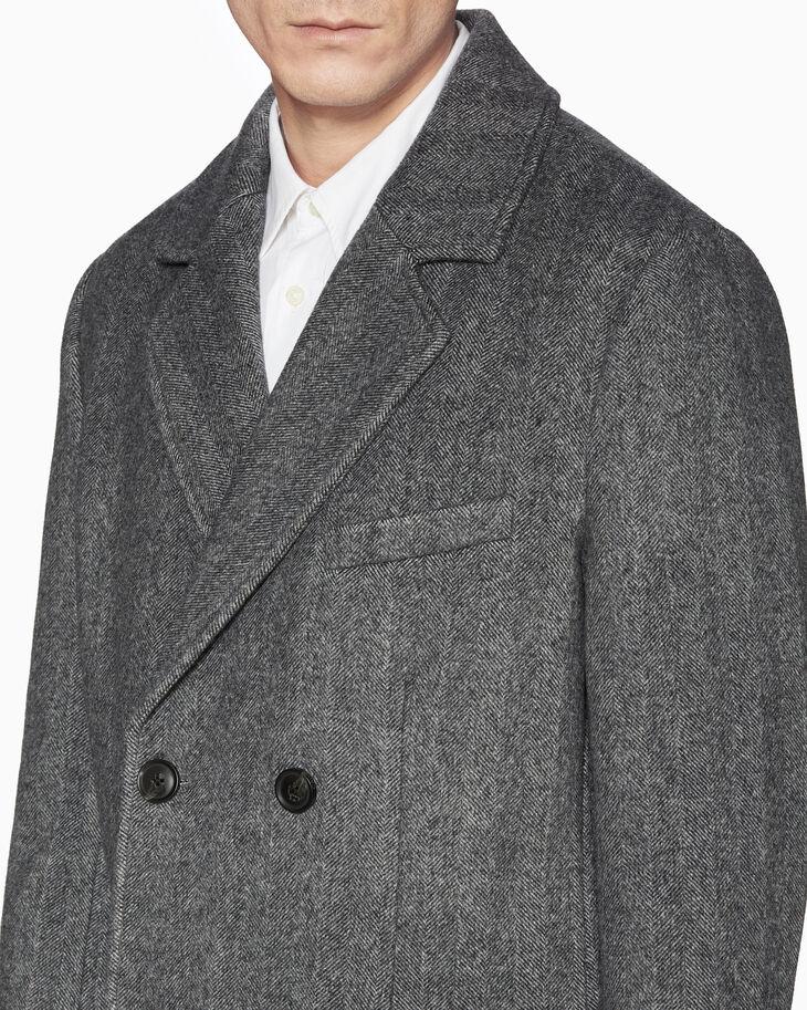 CALVIN KLEIN HERRINGBONE WOOL 재킷