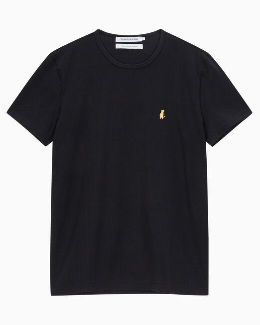 CALVIN KLEIN 남성 씨엔와이 엠브로 반팔 티셔츠