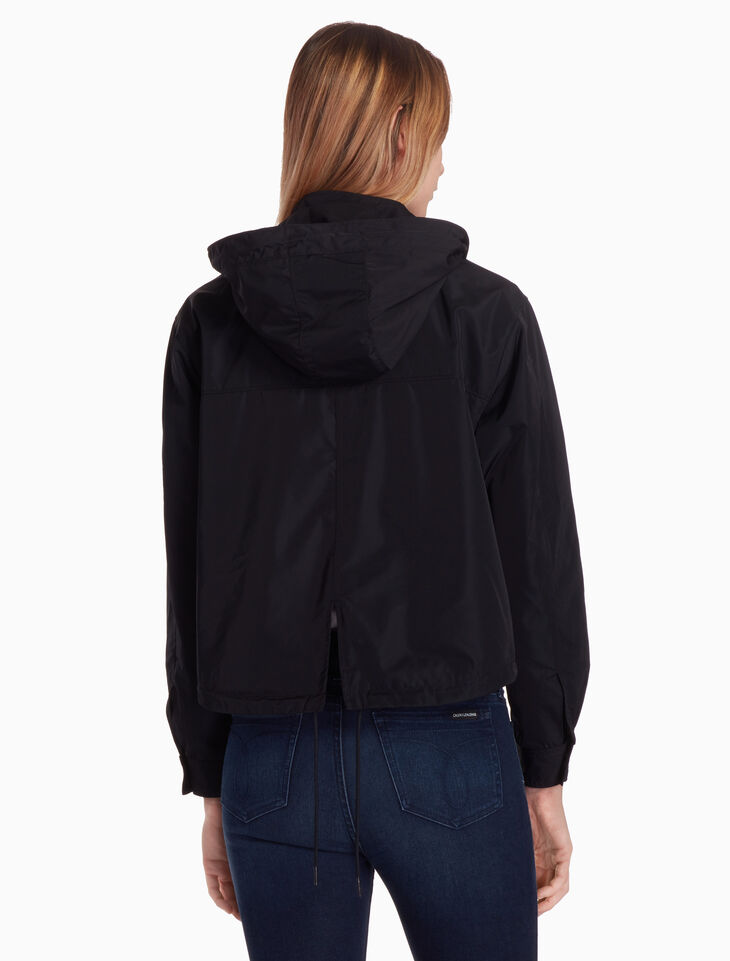 CALVIN KLEIN ZIP THROUGH NYLON JACKET