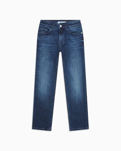 CALVIN KLEIN BOYS WASHED TAPER JEANS