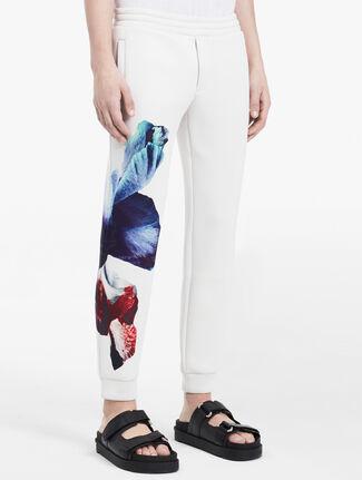 CALVIN KLEIN hyper floral pants