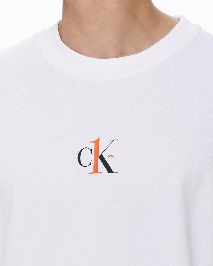 CALVIN KLEIN CK ONE RELAXED FIT SWEATSHIRT