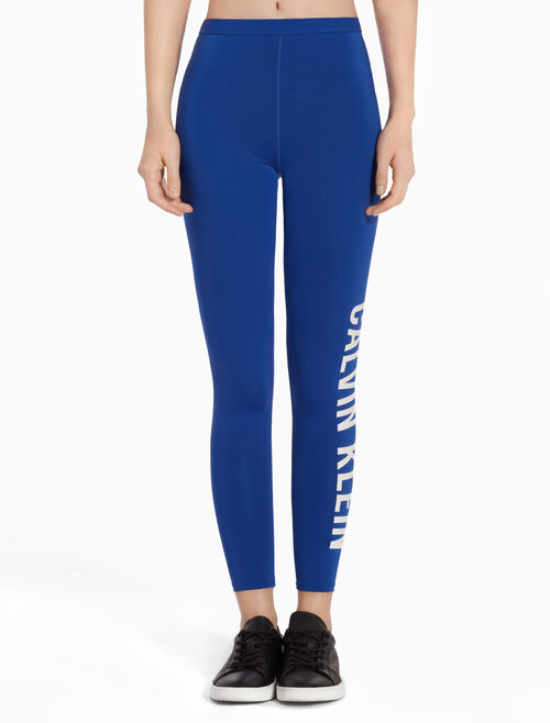 CALVIN KLEIN SIDE LOGO ANKLE LENGTH LEGGINGS