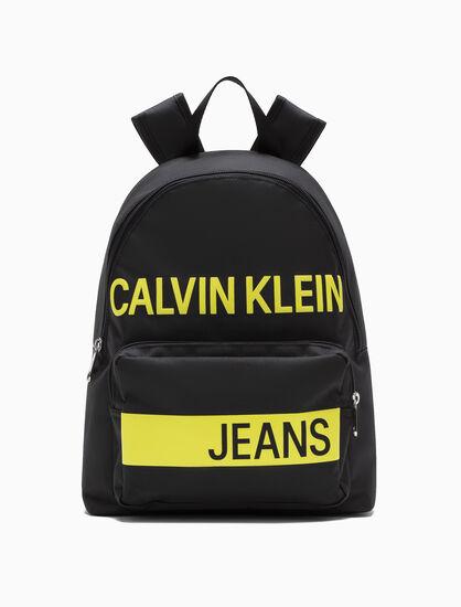 CALVIN KLEIN BOYS LOGO キャンパスバックパック
