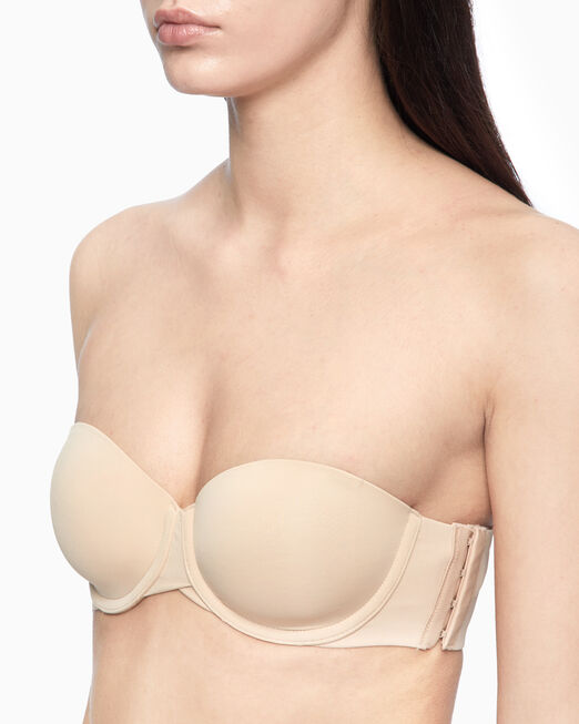CALVIN KLEIN INVISIBLES LIGHTLY LINED STRAPLESS 브라