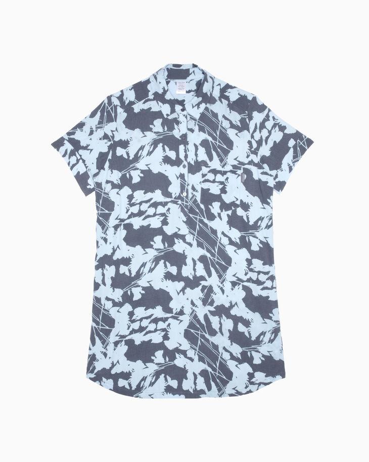 CALVIN KLEIN WOVEN VISCOSE 나이트 셔츠