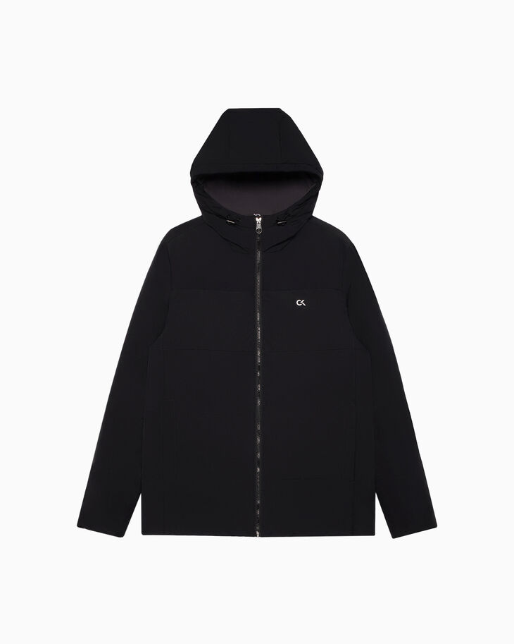 CALVIN KLEIN LOGO QUILTED DOWN JACKET