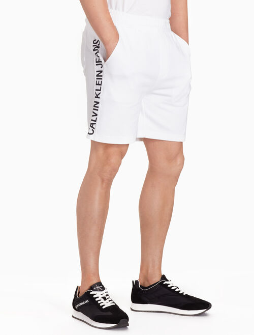 CALVIN KLEIN INSTITUTIONAL LOGO SHORTS