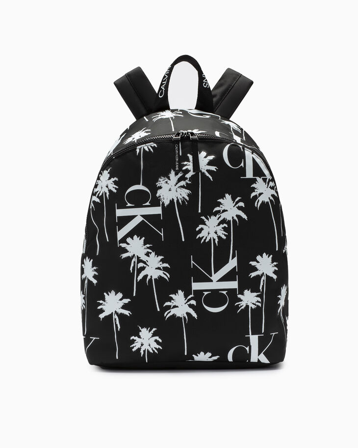 CALVIN KLEIN BOYS PALM PRINT BACKPACK 40