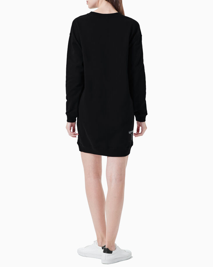 CALVIN KLEIN CK50 LOGO SWEATSHIRT DRESS