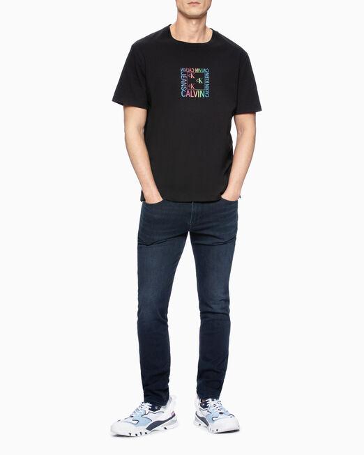 CALVIN KLEIN GRADIENT LOGO PRINT 티셔츠