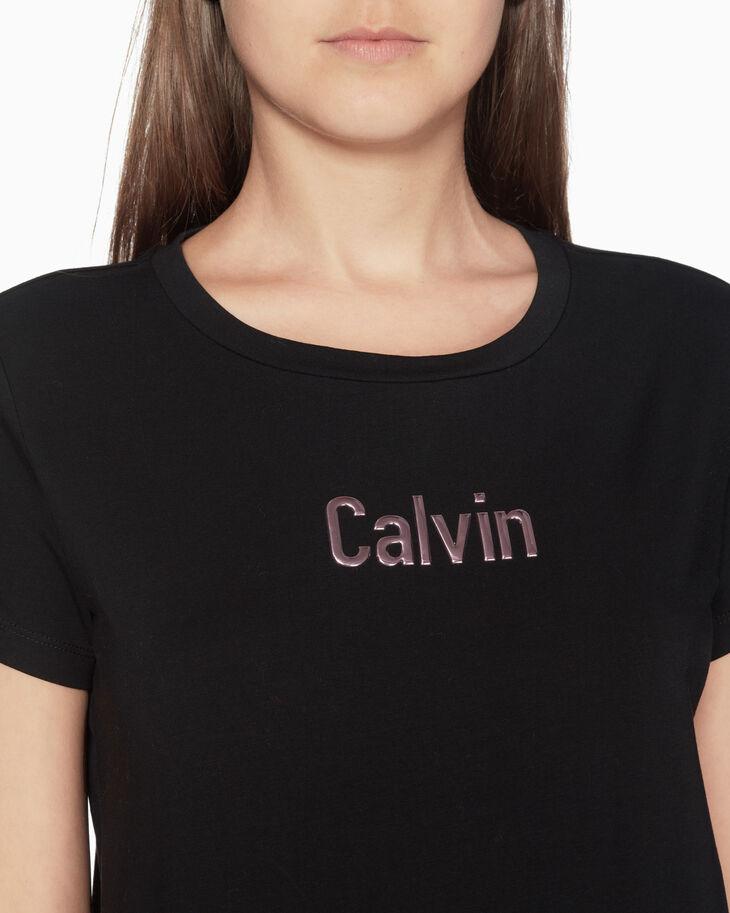 CALVIN KLEIN CALVIN ジェリープリント T シャツ