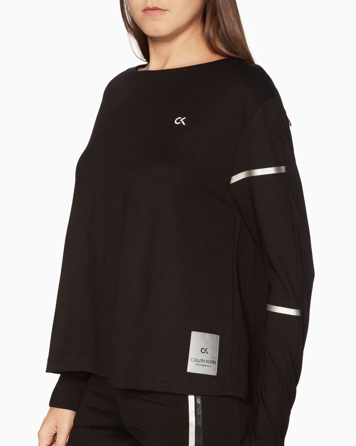 CALVIN KLEIN GALAXY BACK PLEAT TOP