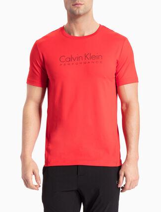 CALVIN KLEIN ショートスリーブ ロゴ T シャツ