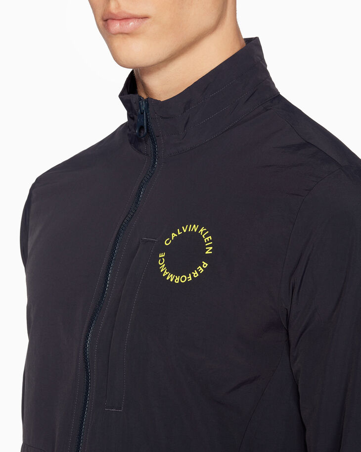 CALVIN KLEIN SPACE LINES WINDBREAKER