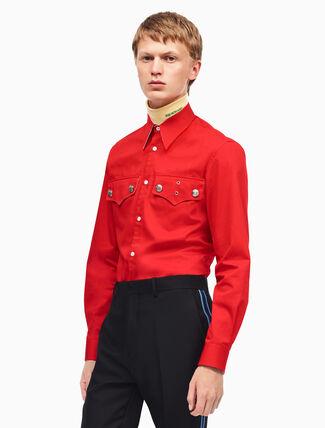 CALVIN KLEIN medium fit policeman shirt