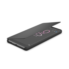 Style Cover Touch SCR56 for Xperia X Performance (Graphite Black)