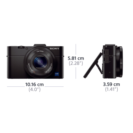 RX100 II Digital Compact Camera with 3.6x Optical Zoom