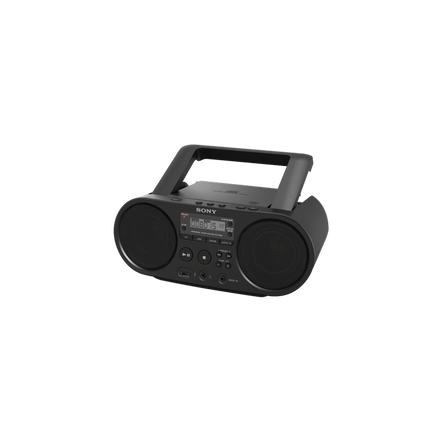 cd boombox with am fm digital radio tuner and usb playback. Black Bedroom Furniture Sets. Home Design Ideas