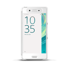 Style Cover Touch SCR50 for Xperia X (White)
