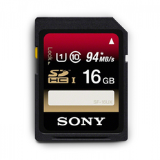 16GB SDHC UHS-1 Class 10 Memory Card UX Series