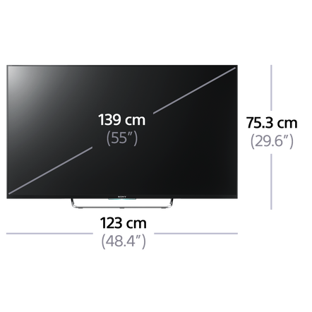 "55"" W800C Full HD TV"